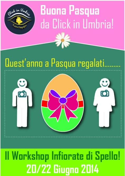 Happy Easter by Click in Umbria!