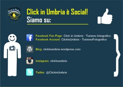Click in Umbria è molto Social!