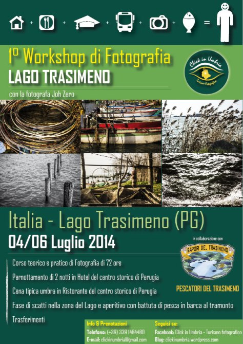 "Primo workshop fotografico ""Lago Trasimeno"" con Click in Umbria"