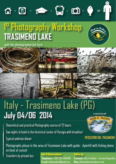 "1° Photography Workshop ""Trasimeno Lake"" with Click in Umbria - Turismo fotografico"