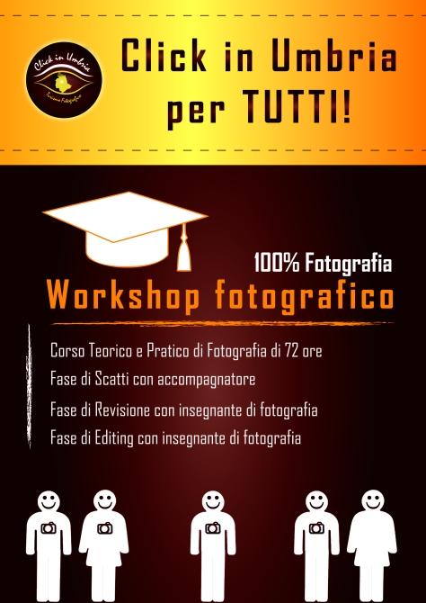 Corso di Fotografia | Click in Umbria - Turismo fotografico