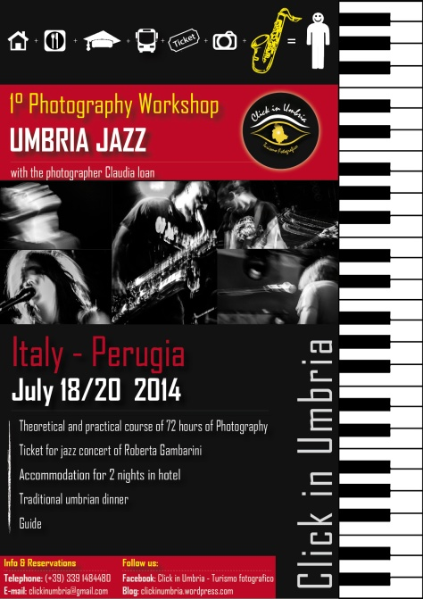 "1° Photography Workshop ""Umbria JAZZ"" with Click in Umbria - Turismo fotografico"
