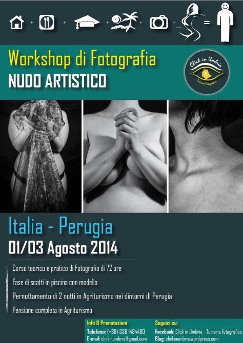 Workshop fotografico Nudo artistico | Click in Umbria - Turismo fotografico