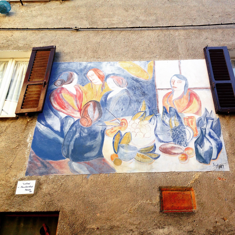 Mugnano, Muri dipinti!